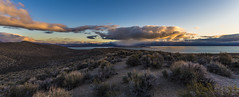 Early morning clouds and a little rain (Fred Moore 1947) Tags: california sky lake clouds landscape mono us unitedstates desert