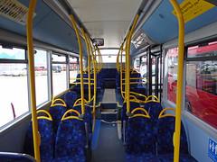 GAL SE291 - YX16OCW - INTERIOR - BV BUS GARAGE - FRI 29TH APR 2016 (Bexleybus) Tags: bus london ahead interior garage go 200 belvedere dennis mmc bv enviro adl goahead se291 yx16ocw