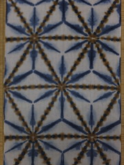 itajime shibori au natural (asiadyer) Tags: japan japanese symmetry textile sacred tiedye dye dyeing psychedelic dyed shibori psychedelica sacredgeometry sarashi japanetsy shiboripsychedelic