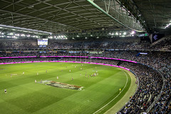 Etihad Stadium AFL Game, Melbourne, Australia (globetrekimages) Tags: sports stadium australia melbourne aussierules afl etihadstadium