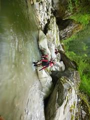 P1120407 (Mountain Sports Alpinschule) Tags: blue mountain sports lagoon canyoning zillertal zemmschlucht alpinschule