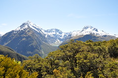 Routeburn Track (Lay Kun) Tags: mountain nature landscape outdoor sunny snowcapped greatwalk nikkor18105mm