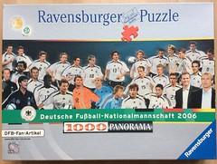 Deutsche Fuballnationalmannschaft 2006 - Ravensburger - 1000 Teile (.Francine) Tags: panorama puzzle fusball