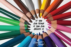 Attachment (Art Costello) Tags: inspiration art colors beauty pencils creativity rainbow quote creative create inspire expectations motivate positivethinking youcandoit makeithappen expectationtherapy