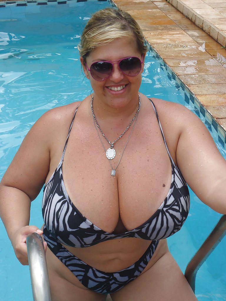 She has mature nude bbw in bikini