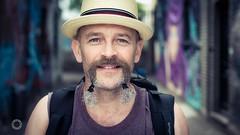 193:200 Strangers - Kalman (iain blake) Tags: street portrait people london smile photography 50mm eyes nikon faces camden strangers portraiture 100 colourful d4 100strangers
