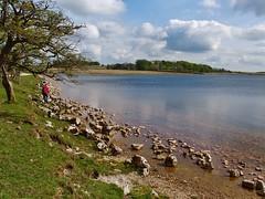 Yonder Lake (leah4900) Tags: england lake nature water beautiful landscape nationalpark scenery olympus malham highest