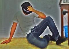 Sombrerito (AVENTURA615) Tags: sombrero sombrerito jeans aventura615 gullo hombre man sexyman autoretrato honda