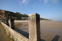 IMG_4316 (Crab2222) Tags: cloud sun beach clouds sand low wide sunny wideangle groyne bournemouth beachhuts sunnyday groynes lowangle