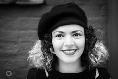 Sanaa (iain blake) Tags: street portrait london photography 50mm town eyes nikon faces camden smiles strangers portraiture 100 d4 100strangers
