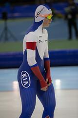 A37W0549 (rieshug 1) Tags: ladies sport skating worldcup groningen isu dames schaatsen speedskating kardinge 1000m eisschnelllauf juniorworldcup knsb sportcentrumkardinge worldcupjunioren kardingeicestadium sportstadiumkardinge