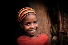 Wolayta Girl (Rod Waddington) Tags: africa portrait people girl female child outdoor african traditional tribal afrika ethiopia tribe ethnic ethnicity afrique ethiopian thiopien etiopia ethiopie etiopian wolayta wollaita