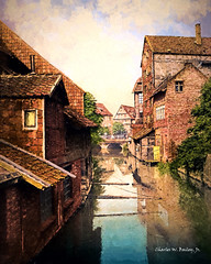 Digital Oil Painting of Hildesheim, Germany by Charles W. Bailey, Jr. (Charles W. Bailey, Jr., Digital Artist) Tags: art photomanipulation photoshop germany painting europe fineart digitalart visualarts oilpainting cezanne hildesheim topaz lowersaxony digitalartist topazlabs topazclean topazdenoise topazdejpeg innersteriver topazremask topazclarity topazrestyle charleswbaileyjr topazimpression