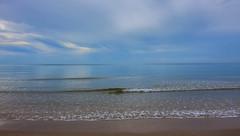 Pantai Sepat View (Walter Mark Fernandez) Tags: ocean sea beach water waves horizon clear kampung kuantan pantai cempaka sepat