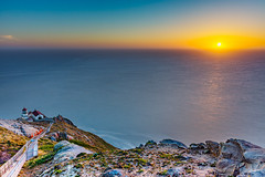 Sunset at Point Reyes Lighthouse (ScorpioOnSUP) Tags: california sky mountains nature landscape outdoors photography nationalpark dusk halfdome yosemitenationalpark wilderness glacierpoint naturephotography cloudsrest tenayacanyon landscapephotography echopeaks vogelsangpeak tresidderpeak