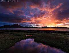 Another Waterloo Sunset EXPLORED (SkyeWeasel) Tags: sunset mountains skye landscape scotland waterloo broadford beinnnacaillich broadfordbay