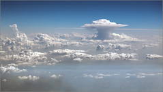 Adriatic Weather (mikeyp2000) Tags: storm weather clouds skyscape aerial thunderstorm thunder cloudscape cumulonimbus