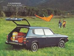 1976 Datsun F-10 (Hugo90-) Tags: ads advertising cherry nissan f10 catalog brochure f11 1976 datsun fii