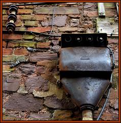 Powerless (Vide Cor Meum Images) Tags: mac010665yahoocouk markcoleman markandrewcoleman videcormeumimages vide cor meum nikon d750 power derelict abandoned brick mains electricity discontinued devon tiverton