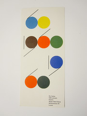 New Year card by Walter Marti, 1960 (Herb Lubalin Study Center) Tags: switzerland luzern lucerne 1960 waltermarti