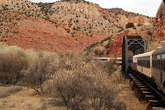 40 Verde Canyon Railroad IMG_6413 (jpoage) Tags: travel wallpaper vacation arizona color beautiful digital landscape photography photos chocolate picture sedona verdecanyonrailroad chocolatetrain billpoagephotography