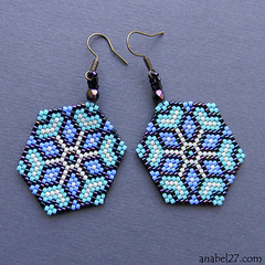 DSCN6432 (27anabel) Tags: peyote earrings beading beadwork delica