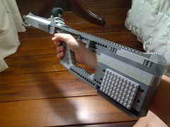 LEGO A-41 Assault Rifle (Jedi Master Productions) Tags: star gun hand lego rifle halo battle assault wars custom