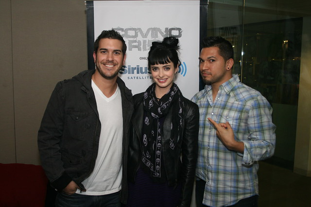 Actress Krysten Ritter stops by the Covino & Rich Show