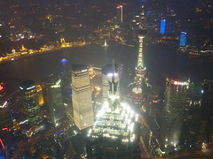 (sftrajan) Tags: china skyscraper view shanghai   pudong jinmaotower bankofchina thebund orientalpearltower   lujiazui huangpuriver shanghaiinternationalfinancialcenter hsbcbuilding  supertall shnghi shanghaiworldfinancialcenter pudongdistrict shanghaiworldfinancialcenterobservatory southshanghaiifctower northshanghaiifctower