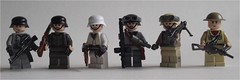 groop pic of my newest figures. (ResistanceBrick [Juri-Flurry]) Tags: lego ww2 minifigs minifigures panzergrenadier brickarms newfigs dutchlego resistancebrick