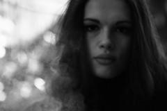 S. (Maieutica) Tags: portrait bw girl face smoke bn smoking ritratto viso ragazza fumo fumare faccia volto