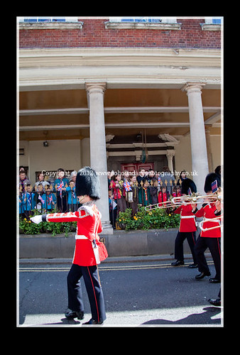 Windsor Changing of The Guards on Monday 30 April 2012-42