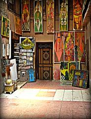 Art for Sale, Taroudannt (ronramstew) Tags: pictures art shop gallery market folk morocco maroc marocco souk 1001nights ethnic marruecos marche marokko 2012 taroudant taroudannt lemaroc flickraward platinumheartaward 2010s 1001nightsmagiccity