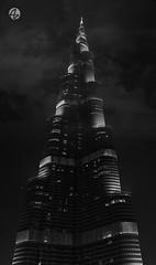 Khalifa Tower (Az. Abdulrahman Alzahim) Tags: travel sky black tower canon photography nikon dubai shot photos towers uae az khalifa 2012 photographe abdulrahman whait anawesomeshot 1000d alzahim stunningphotogpin best4gpin