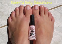 Renda Charmosa - Risque (Roberta Kelly Damasceno) Tags: rosa nails pés risque unha esmalte penelopecharmosa rendacharmosa
