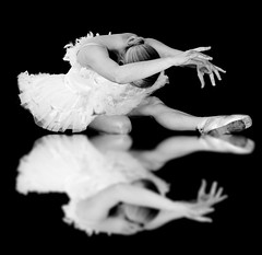 Odette [explored] (marywilson's eye) Tags: bw ballet white black reflection art girl beautiful beauty leather shoe dance swan ballerina shoes soft arch dancer pointe essence satin sole tutu cisne odette bailarina balet ballerinas balett balerina balletpointe baletki baletka baletky blinkagain