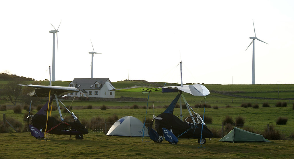 Trikes, tents and turbines
