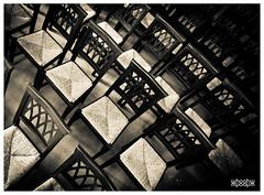 chairs (Hofmeister Willi) Tags: blackandwhite bw lowlight chairs sony carinthia manualfocus stuehle kaernten voigtlndersuperwideheliar15mmf45aspherical whoohw