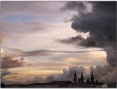 after storm (rafa brion rafa arroyo) Tags: santiago catedral compostela tormenta