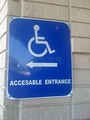 Accesable Entrance