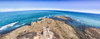 Vue du phare de Gatteville (haiwepa) Tags: ocean sea panorama mer lighthouse horizon panoramic fisheye phare autopano francelandscapes