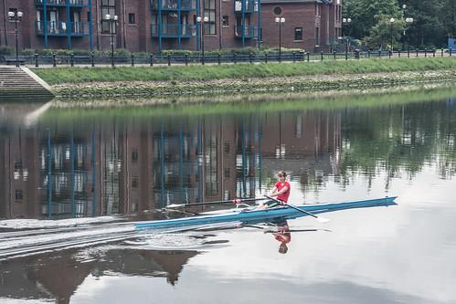 Belfast - Rowing On The Lagan