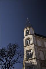 into the sky (liebeslakritze) Tags: blue sky himmel blau kiel gaarden