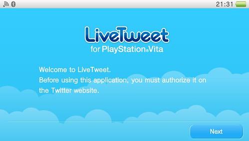 Non-Game Application for PS Vita