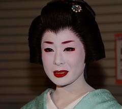 (nobuflickr) Tags: red people woman japan kyoto traditional lips maiko geiko   kimono     gionhigashi 20120511dsc02136