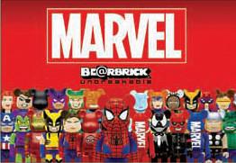 MARVEL × BE@RBRICK unbreakable 情報公開!