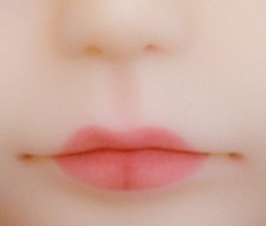 The new Translucent girl lips...