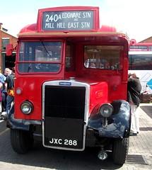 London transport TD95  Fulwell 12/05/12. (Ledlon89) Tags: bus london transport lt londonbus vintagebus fulwell leylandtiger mannegerton londonbusmuseum