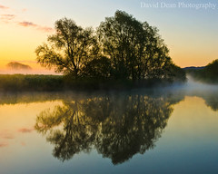 Morning has Broken (jactoll) Tags: uk england mist rural reflections river landscape dawn countryside spring nikon serene worcestershire nikkor avon tranquil vr 2012 worcs eckington 1685mm d7000 jactoll ashammeadow