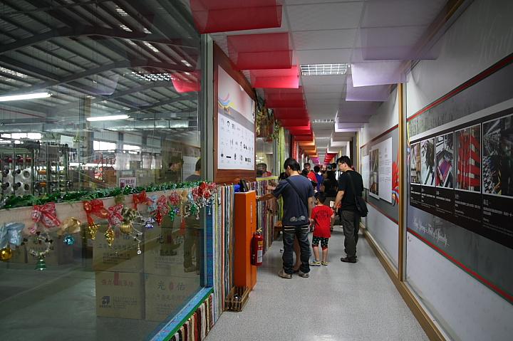 緞帶王織帶文化園區(縉陽觀光工廠)006